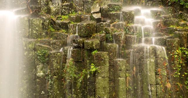 Basaltic flow