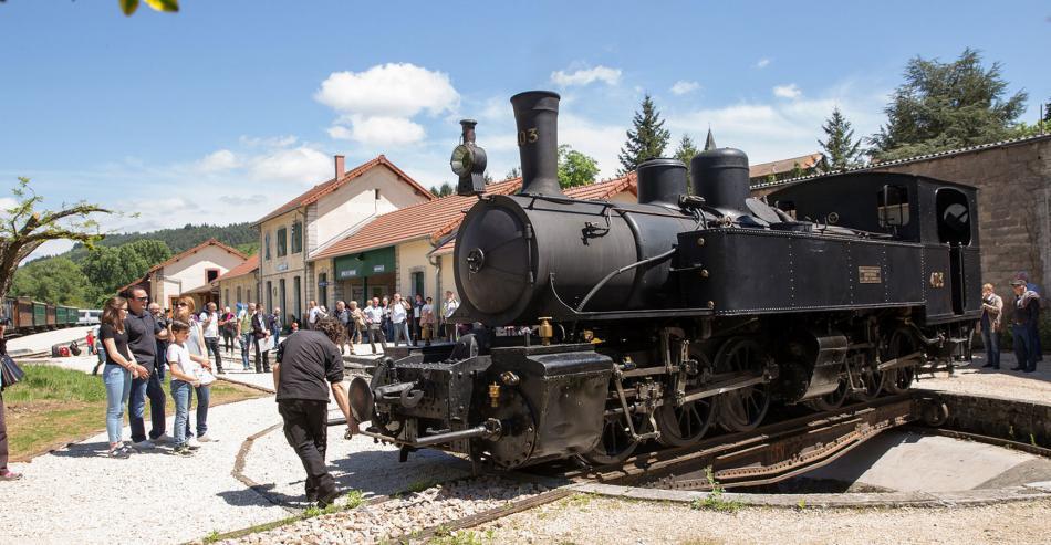The Ardeche train