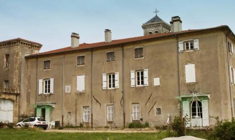 Château de Lemps - Extérieur