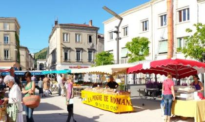 Hermitage Tournonais Tourisme - Marché