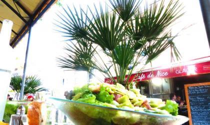 - Salade de ravioes