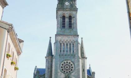 © Nicolas Garousse - L'église du Sacré-Cœur à Vernoux-en-Vivarais