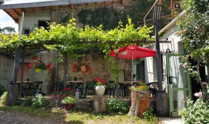©Office de TourismeArdècheGrandAir - Restaurant Le Pont de la Bique