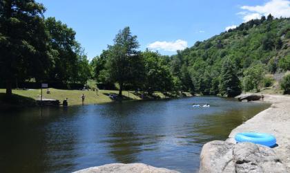 Office de Tourisme du Pays de Lamastre - Plan d'eau Retourtour