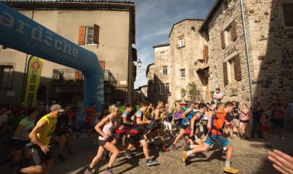 ©S.BUGNON - 2019 - Thueyts - Trail de la Chaussée des Géants 2