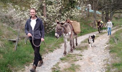 © Ânes sans frontières - Randonnée avec les ânes