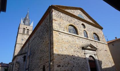 ©Maëva-Lopez - Thueyts - Eglise St Jean Baptiste ©Maëva-Lopez
