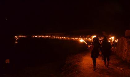 HTT - Descente aux flambeaux_ St Barth en fête