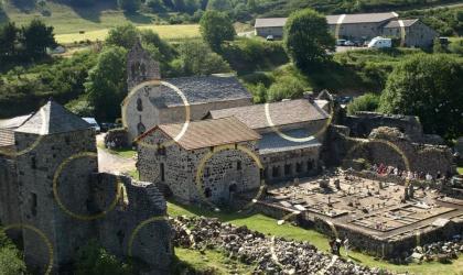 S.Moulin - Abbaye de Mazan Partage des Eaux