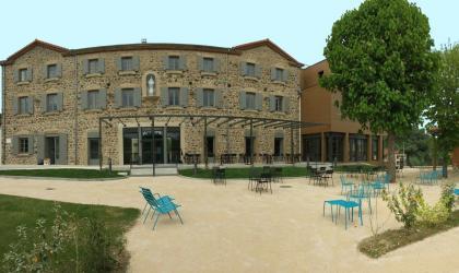 Ardèche Hermitage - vue extérieur