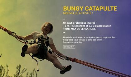 ©Foretdelaventure - Bungee catapulte