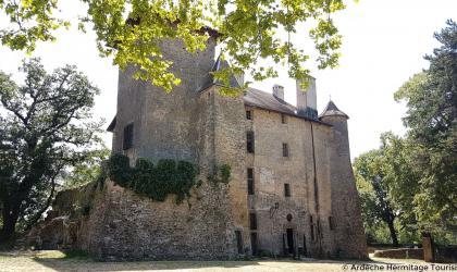 Ardèche-Hermitage-Tourisme - Château de Charmes_Journées du Patrimoine