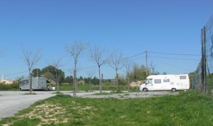 Aire de camping-car à Villeneuve de Berg