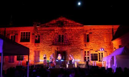 """© Nicolas Garousse - Concert durant le festival """"Jazz en Vivarais"""" en 2019"""