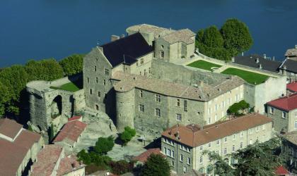 Ville de Tournons sur Rhône - Vue du Château