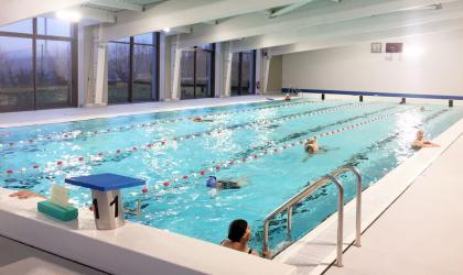 """© Communauté d'agglomération """"Privas Centre Ardèche"""" - La piscine intercommunale à Vernoux-en-Vivarais"""
