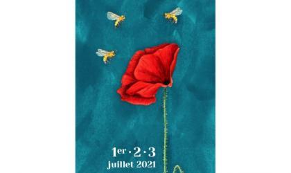 """Affiche du festival """"3 jours pour l'abeille"""" (1ère édition)"""
