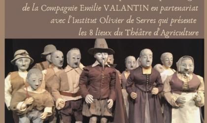 """Mairie de Villeneuve de Berg - Exposition """"Regards sur Olivier de Serres souriant"""" à Villeneuve de Berg"""