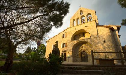 ©S.BUGNON - Fabras - L'église romane St pierre aux liens ©S.BUGNON