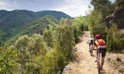Ardèche Verte Tourisme - Domaine Enduro VTT