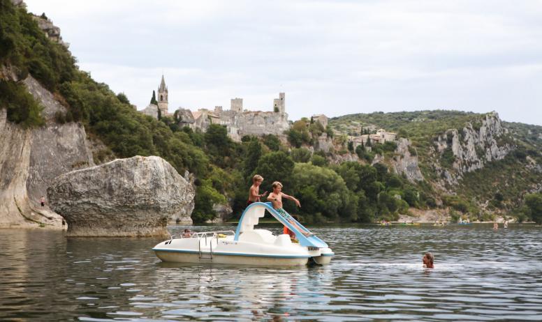 Laurent Moulin - Plage du Grain de Sel à Saint-Martin-d'Ardèche