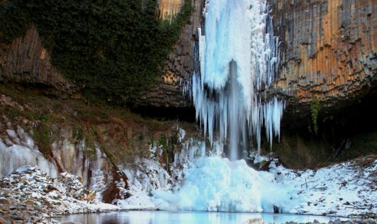 ©S.BUGNON - Montpezat-sous-Bauzon - Cascade de Pourcheyrolles ©S.BUGNON