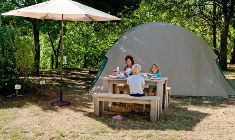 Camping les Arches - Camping les Arches à St Jean le Centenier