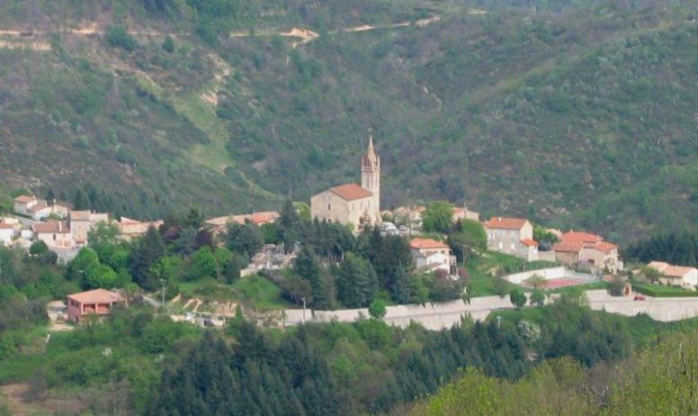 OTI Aubenas-Vals - Graziélla BLANCHARD - Vue sur le village