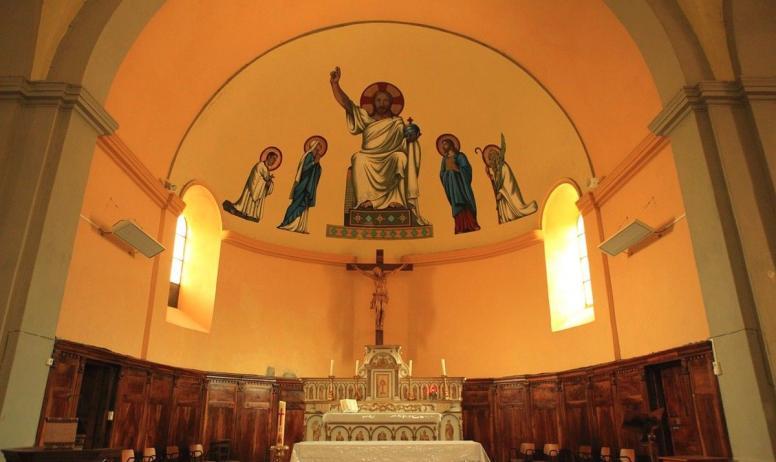 ©OTASV - La Souche - Eglise St Sauveur intérieur ©OTASV