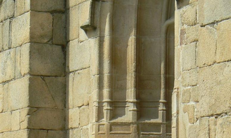 Hermitage Tournonais Tourisme - Porche Eglise Saint Jean l'évangeliste