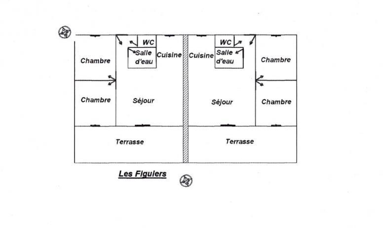 Clévacances - Schéma Les Figuiers