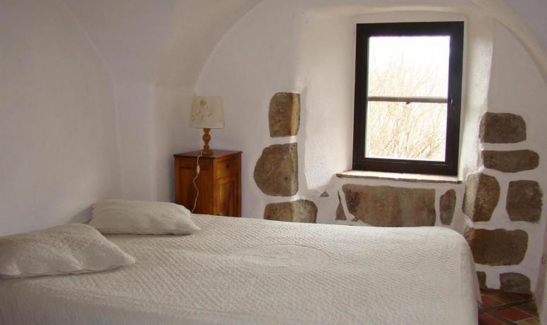 Gîtes de France - Suite du Prieur : petite chambre.