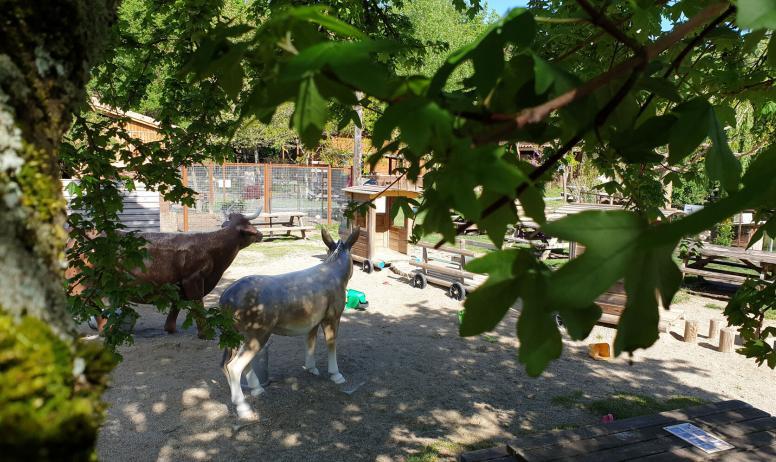 parc animalier - aire de jeux