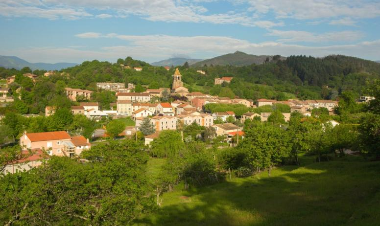 ©S.BUGNON - Meyras - Le village ©S.BUGNON