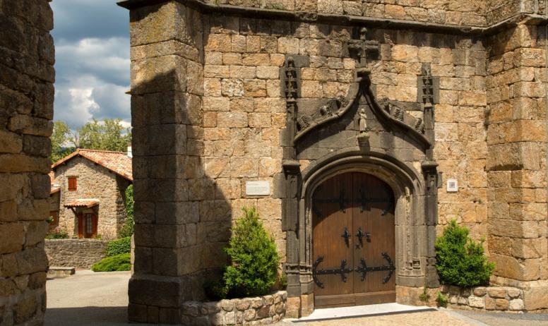 ©S.BUGNON - Meyras - L'église ©S.BUGNON
