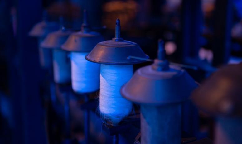 ©Simon BUGNON - 2019 - Chirols - Écomusée du moulinage - Bobines de fil