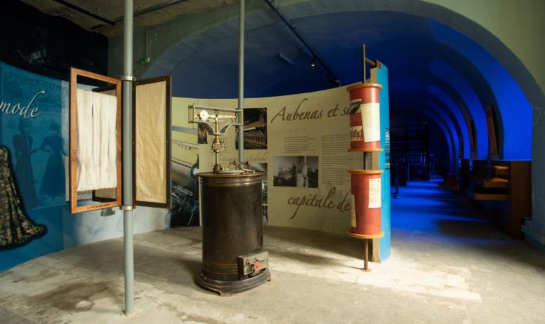 ©Simon BUGNON - 2019 - Chirols - Écomusée du moulinage - Partie de l'exposition