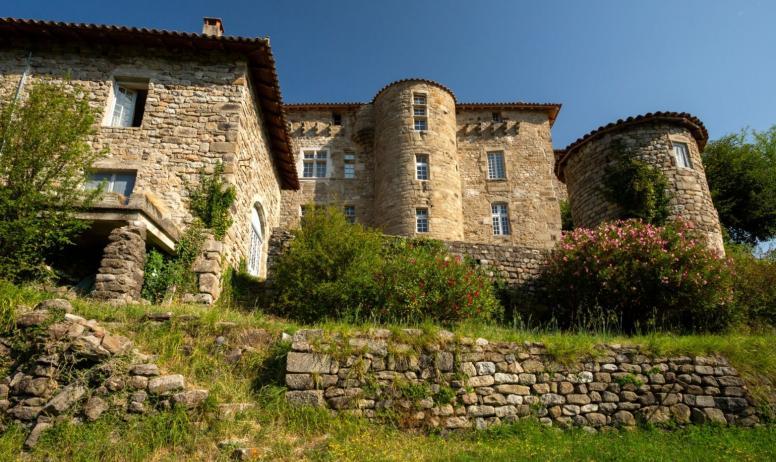 ©S.BUGNON - SB - CCASV - Jaujac - Château du Bruget-2
