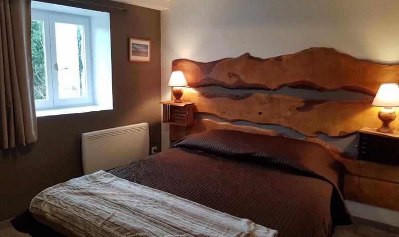 Gîtes de France - Chambre avec 1 lit en 160