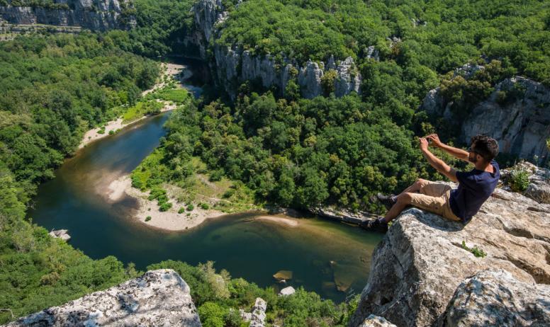 M.Dupont - ot Cévennes d'Ardèche - Gorges du chassezac