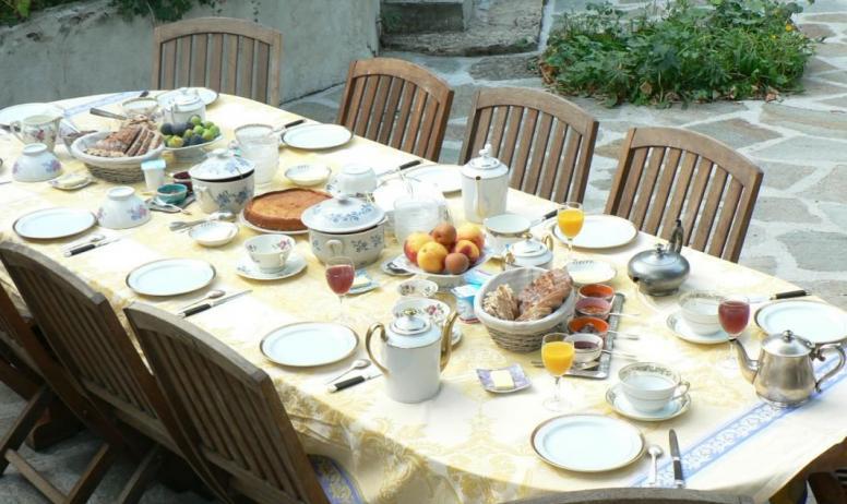- petit déjeuner