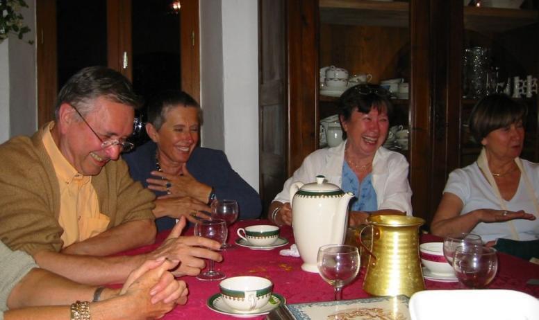 - table d'hôtes