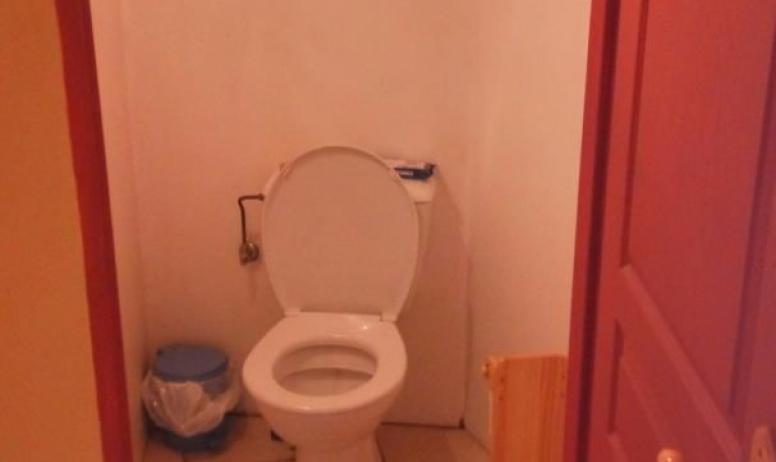 Gîtes de France - toilette du bas