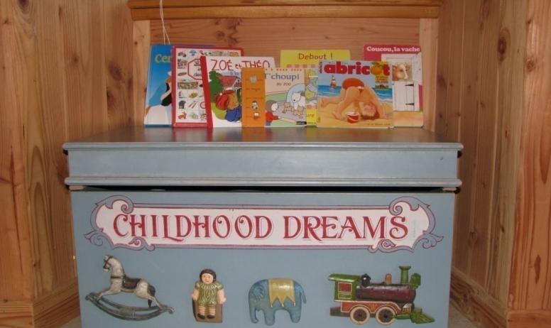 Gîtes de France - Des jouets pour les petits
