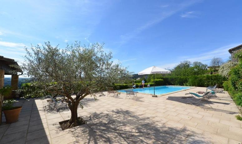 Gîtes de France - terrasse piscine