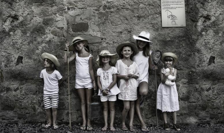 Gîtes de France - Le Château d'Uzer, un paradis pour les enfants !