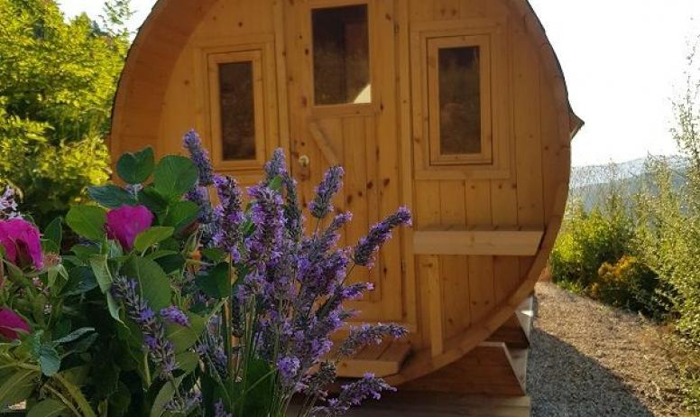 Gîtes de France - le sauna extérieur