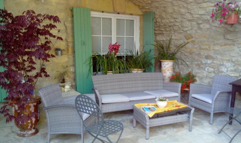 Gîtes de France - salon de jardin