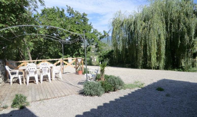 Gîtes de France - La terrasse du gite