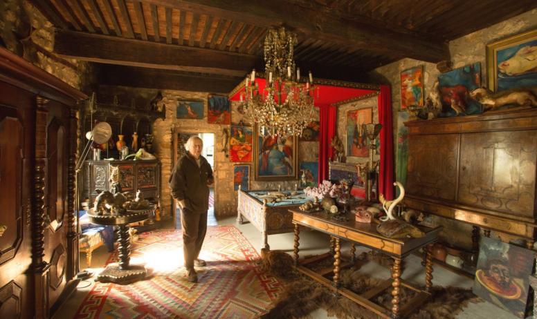 ©S.BUGNON - Fabras - Château du Pin  2 - Cabinet de curiosités